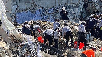 Se temen decenas de muertos bajo los escombros tras casi una semana del derrumbe de edificio en Florida