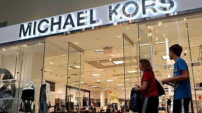 Michael Kors, Versace parent Capri beats revenue estimates