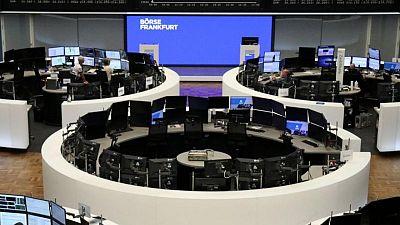 Sharp rise in European sentiment helps stocks higher