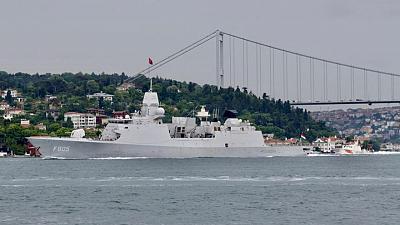 """Países Bajos dice que aviones """"irresponsables"""" rusos acosaron a una fragata en el Mar Negro"""