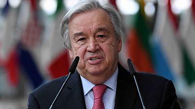 أمين عام الأمم المتحدة يحث واشنطن على رفع العقوبات عن إيران وفقا لاتفاق 2015