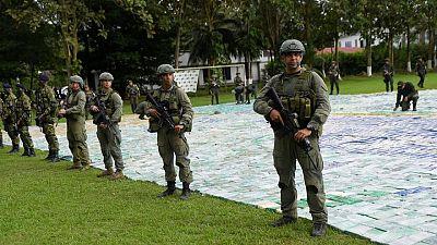 Fuerzas Militares de Colombia confiscan seis toneladas de cocaína a guerrilla del ELN