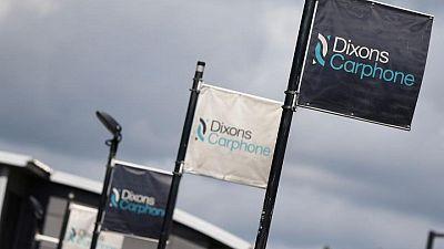 Britain's Dixons Carphone posts 34% profit jump as online sales help
