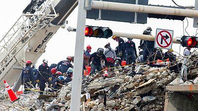 ارتفاع عدد قتلى مبنى ميامي المنهار إلى 18