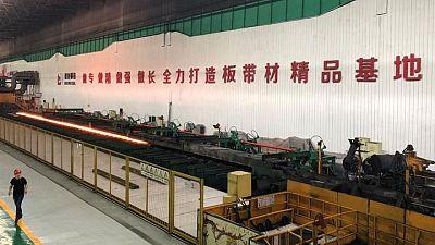 La fabricación en China se ralentiza por la escasez de suministros