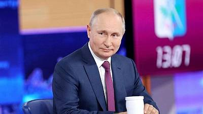 Key remarks from Russian President Putin's annual phone-in