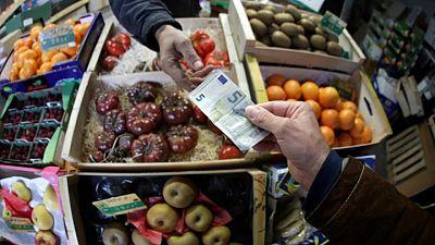 La inflación de la zona euro se frena antes de una esperada aceleración