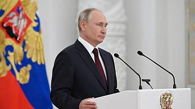 Putin says time will come when I name my possible successor