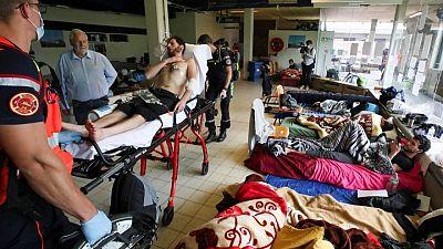 مهاجرون مضربون عن الطعام في بروكسل يطالبون بوضع قانوني