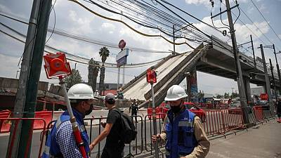 Mexico's Slim to repair collapsed metro line, president says
