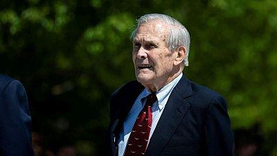 وفاة رامسفيلد وزير الدفاع الأمريكي الأسبق ومهندس حرب العراق عن 88 عاما