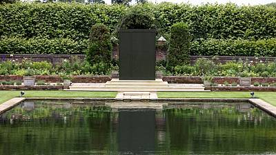 Forget-me-not: London palace's garden redesigned for Diana statue