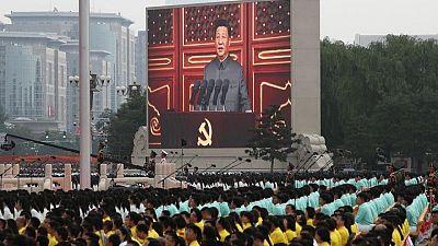 """الرئيس الصيني يقول إنه يريد حل """"مسألة تايوان"""""""