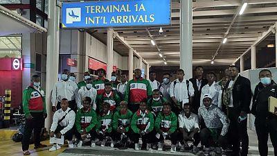 Les équipes de Madagascar débarquent enfin au Kenya pour le Trophée Barthés U20 2021 et la Rugby Africa Women's Cup