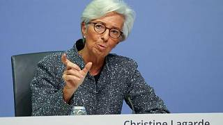 Euro zone recovery faces risks from virus mutations, ECB's Lagarde says