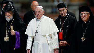 Pope, Lebanon Christian heads begin summit on country's crisis