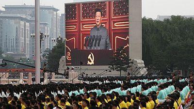Xi advierte contra el acoso extranjero en el centenario del Partido Comunista de China