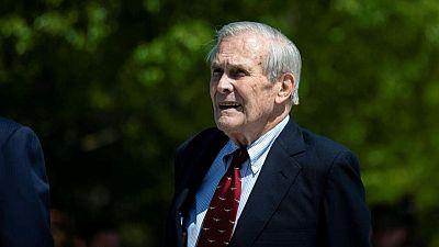 Muere el exsecretario de Defensa de Estados Unidos Donald Rumsfeld a los 88 años