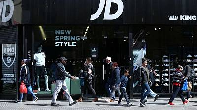 Britain's JD Sports to split chairman and CEO roles