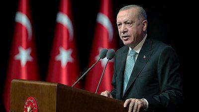 "Turkey's Erdogan says Taliban should end ""occupation"" in Afghanistan"
