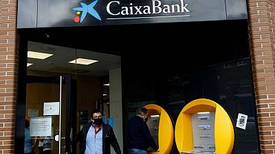 Spain's Caixabank to cut 6,450 jobs, union says
