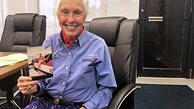 مسنة عمرها 82 ترافق الملياردير جيف بيزوس في رحلة للفضاء