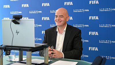 """Infantino : """"Un football plus sain et plus compétitif pour la planète entière"""""""