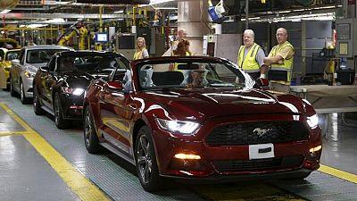 Ford quarterly U.S. auto sales rise on strong SUV, EV demand