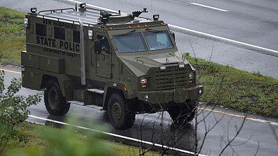 اعتقال 11 في مواجهة جماعة مسلحة مع الشرطة بالقرب من بوسطن الأمريكية