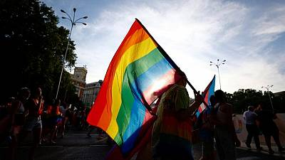 Madrid's gay pride returns after COVID cancellation
