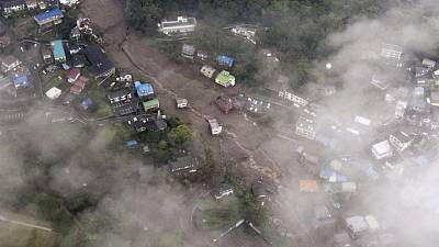 Japan resumes rescue work after deadly landslides, 20 missing-Kyodo