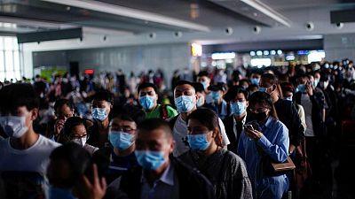 الصين تسجل 57 إصابة جديدة بفيروس كورونا