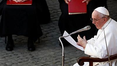 Pope in good condition, alert after surgery to remove part of colon