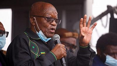 Defiant ex-leader Jacob Zuma compares S.African judges to apartheid state