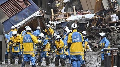 Three dead, 113 missing in Japan after heavy rains trigger landslides