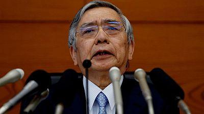 Kuroda recalca que el Banco de Japón está dispuesto a hacer más concesiones para superar la pandemia
