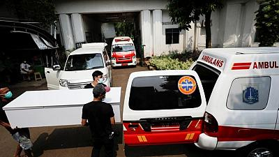 Indonesia reports record daily number of COVID-19 cases and deaths