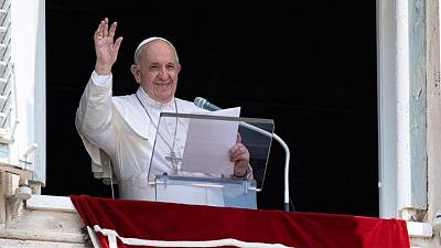 Pope alert and in good condition after intestinal surgery, Vatican says