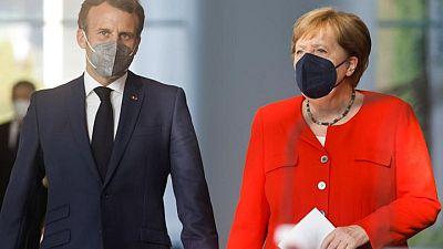 Merkel, Macron discuss EU ties, trade, climate with China's Xi