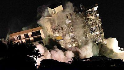 ارتفاع قتلى المبنى المنهار في ميامي إلى 27