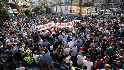 السلطة الفلسطينية تفرج عن جميع المعتقلين على خلفية مظاهرة رام الله الاثنين