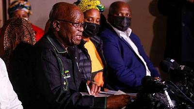 S.Africa's ANC says Zuma exploring every legal avenue after jail sentence
