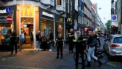 Dutch crime reporter De Vries shot on Amsterdam street - police