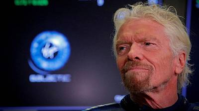 Virgin Galactic's Branson calls his upcoming spaceflight a 'pinch-me moment'