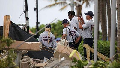 انتشال 8 جثث أخرى من تحت أنقاض المبنى المنهار في فلوريدا