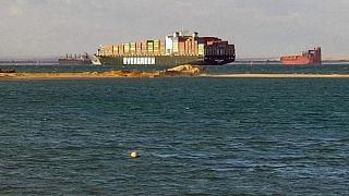 """هيئة قناة السويس والشركة اليابانية مالكة السفينة """"إيفر غيفن"""" يوقعان اتفاق التسوية"""