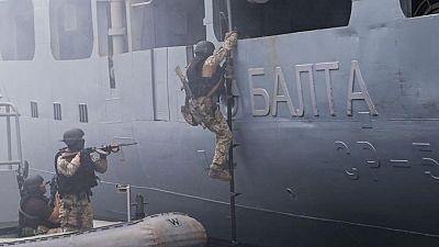Rusia dice que está rastreando un barco de la Armada Española en el mar Negro