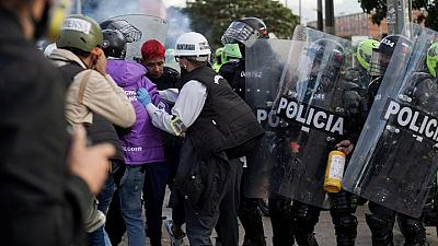 Colombia must hold dialogue, punish police abuse, rights panel says