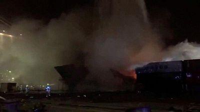 Dubai extinguishes fire on ship in Jebel Ali Port