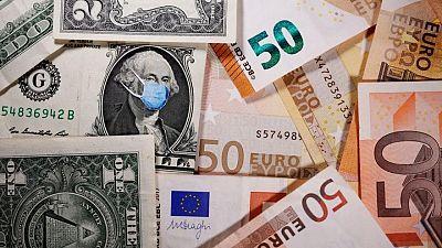 Climbing dollar pauses for breath ahead of ECB